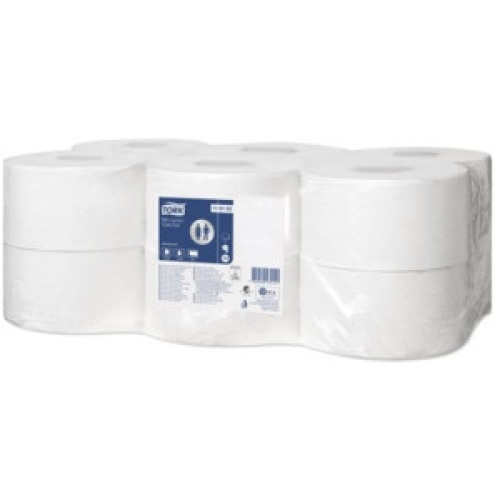 Tork Advanced Papier toilette Mini Jumbo rouleau (T2 EU ECO) photo du produit Front View L