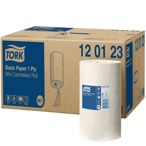 Tork Universal Wiper 310 Mini Centerfeed Roll (M1) photo du produit Front View L