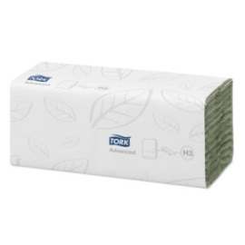 Tork Advanced Hand Towel C Fold Green (H3) photo du produit