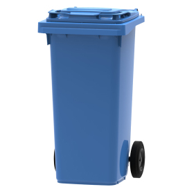 Mini-container 120 l, bleu photo du produit