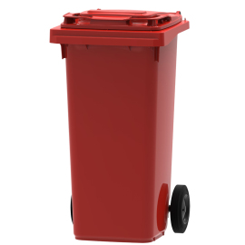 Mini-container 120 l, rouge photo du produit