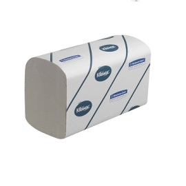 Kimberly Clark essuie-mains Kleenex Ultra pliage V, 2 plis, blanc photo du produit