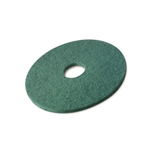 "Poly-pad groen 9"", 220 x 22 mm product foto Front View L"