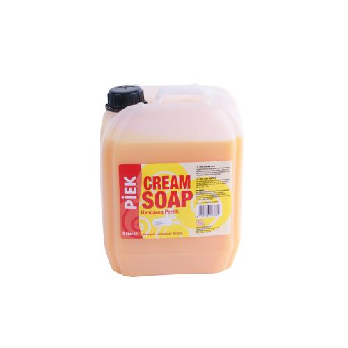 Piek cream soap perzik 5 l product foto Front View L