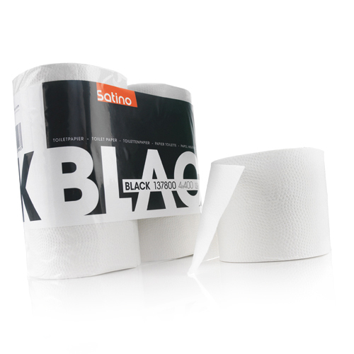 Toiletpapier 2-laags, wit product foto Front View L