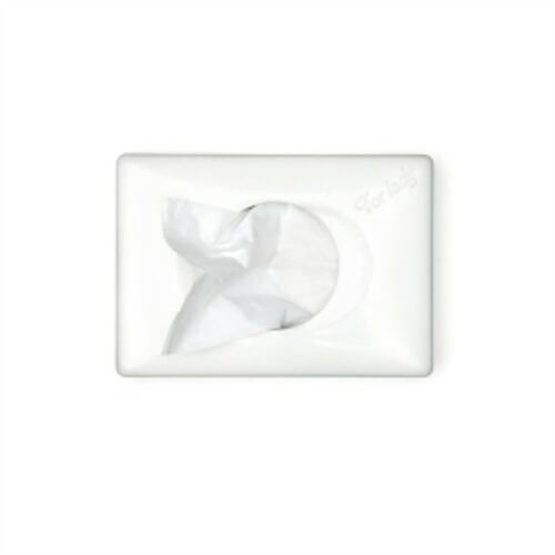 Tork Dispenser Sanitary Towel Bag White product foto Front View L