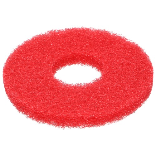 "Poly-pad rood 8"", 200 x 22 mm MotorBrusher en ToRo-Flex product foto Front View L"