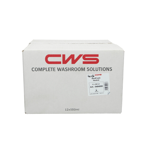 CWS Zeepschuim Neutral product foto Front View L