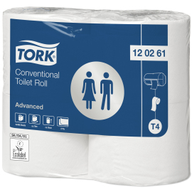 Tork Advanced Toiletpapier Traditioneel Extra Lang rol (T4) product foto