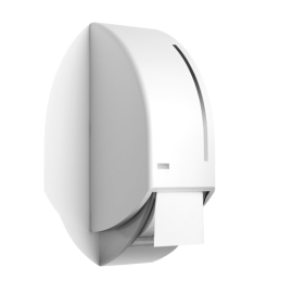 Smart toiletroldispenser voor 2 systeemrollen product foto